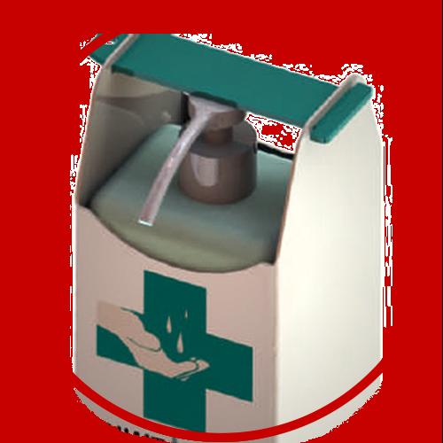 statie dezinfectant